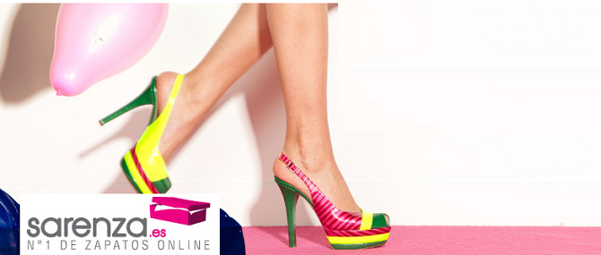 e4ac9a14 Comprar zapatos online, aún más fácil con Sarenza