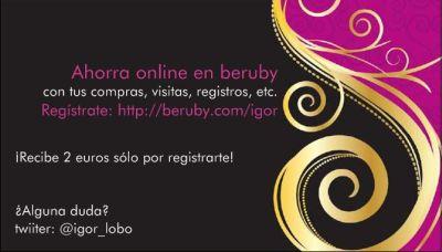 Promociona Beruby Gracias A Vistaprint