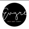 Logo Evyre Baby Deco Eventos