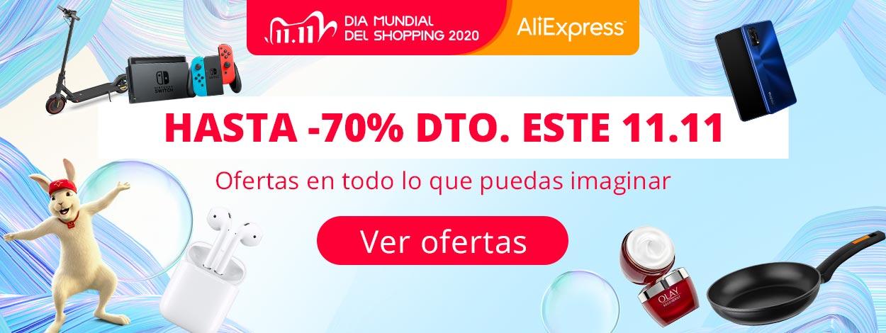 El 11.11 de AliExpress ya está aquí