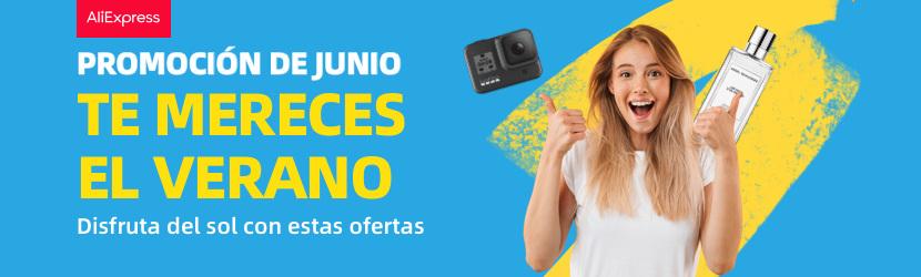 Promo Junio AliExpress