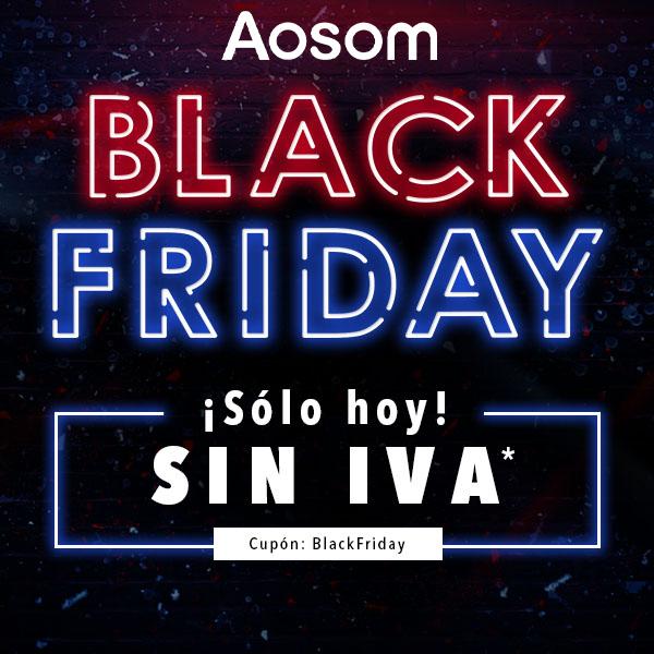 Tus compras sin IVA sólo hoy en Aosom