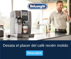 Disfruta del mejor café y las mejores promociones con DeLonghi
