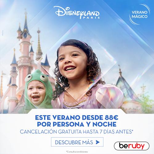 ¡Vacaciones mágicas con Disneyland Paris!