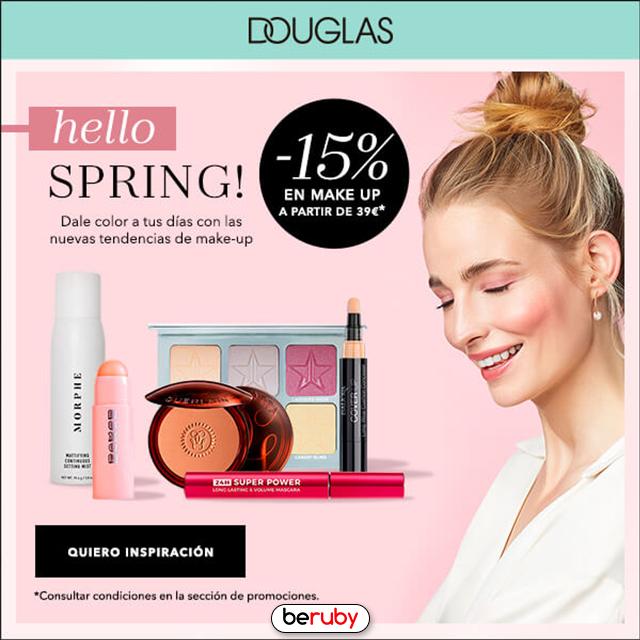 15% EXTRA en maquillaje en Douglas