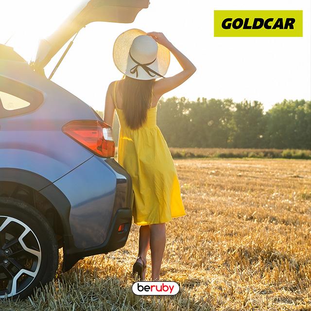 Reserva una escapadita en coche con Goldcar