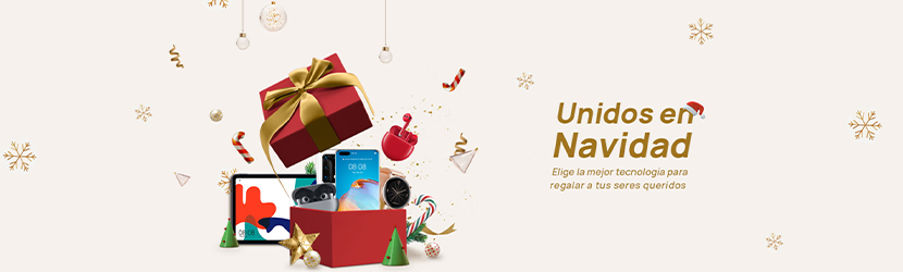 Unidos en Navidad con Huawei