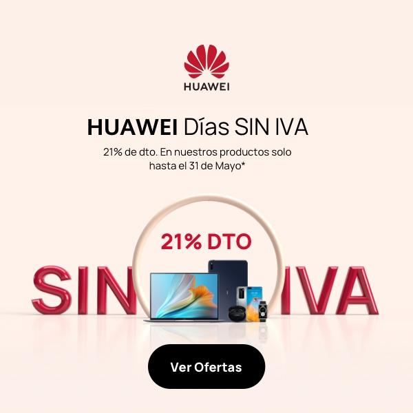 Días sin IVA en Huawei
