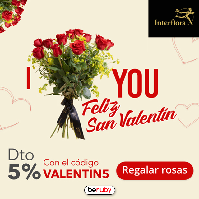 ¡Celebra San Valentín con Interflora