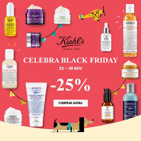 ¡25% de descuento en Kiehl's!