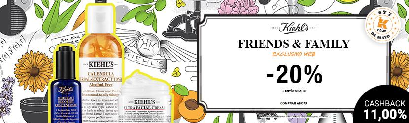 Llega el Friends & Family de Kiehl