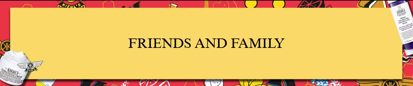 Ahorra en este Friends & Family de Kiehl's