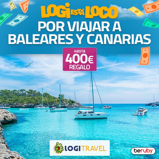 ¡Hasta 400€ de regalo con Logitravel!