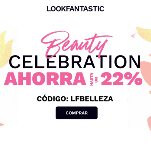 22% de descuento en Look Fantastic