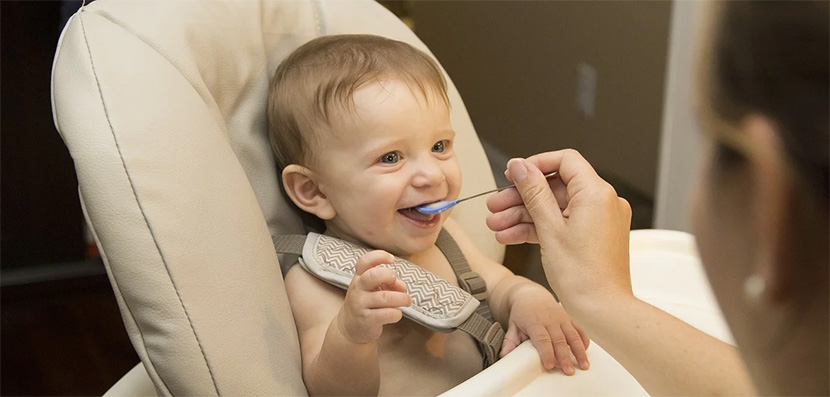Alimentación bebé - beruby