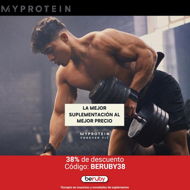 ¡38% de descuento en MyProtein!