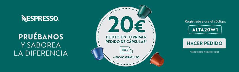 20€ de descuento