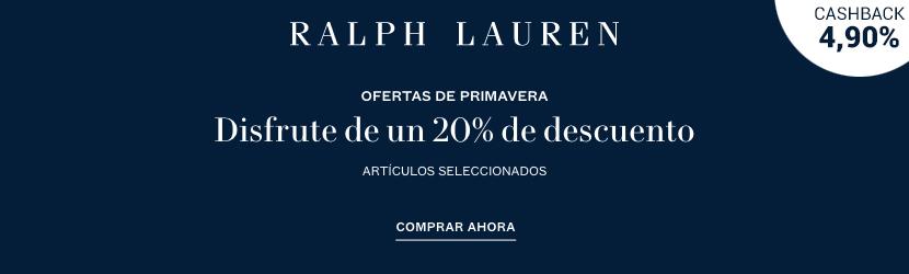 cashback Ralph Lauren