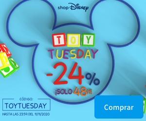 24% de descuento en ShopDisney.ES