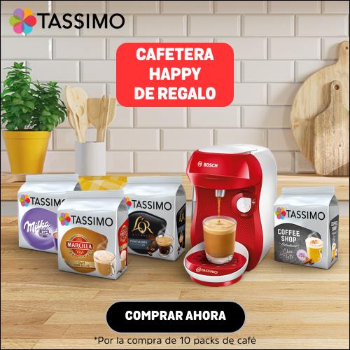Gana recomendando Tassimo, con su promoción de cafetera de regalo
