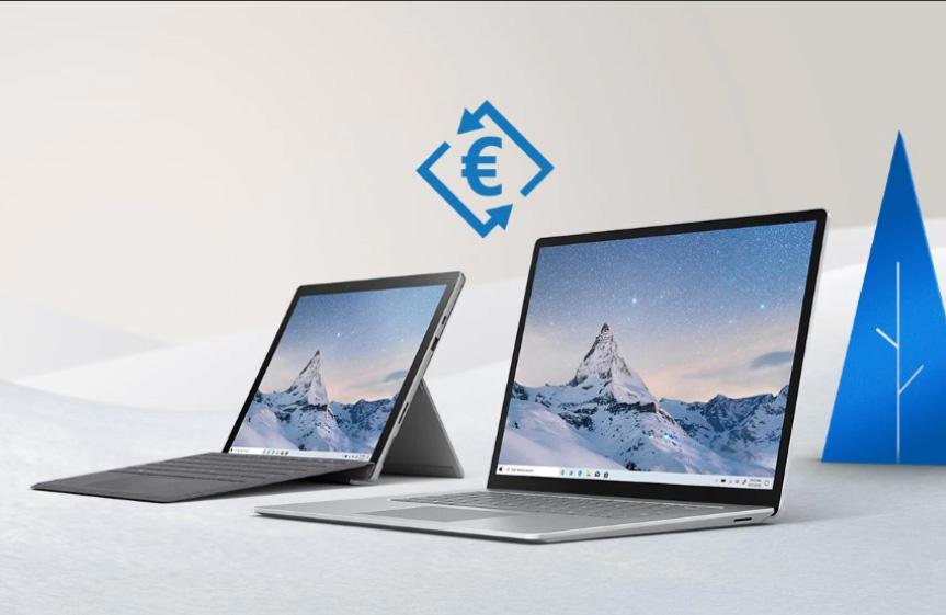 Ahorra hasta 950€ en tu nueva Surface gracias al Trade-In