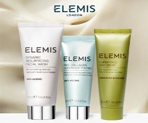 Comienza tu viaje por Elemis con esta oferta exclusiva.