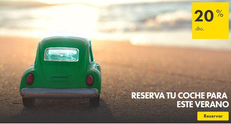 ¡Muévete este verano con Europcar!