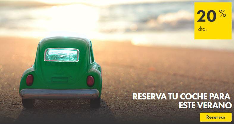 Los mejores descuentos para este verano están en Europcar