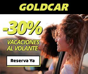 Vacaciones al volante con GoldCar