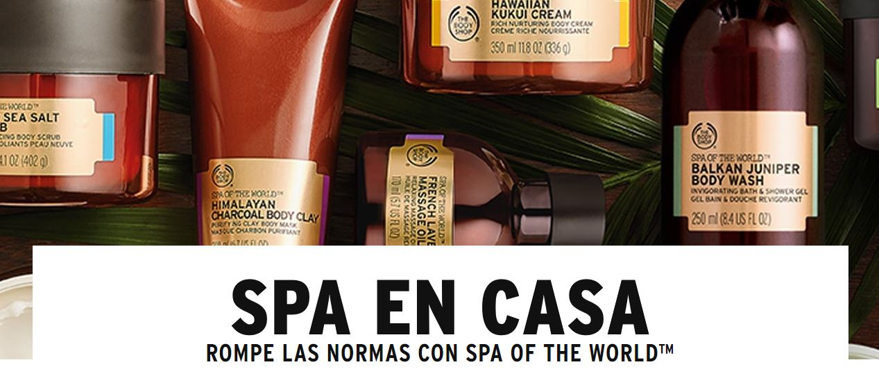 ¡Hoy te toca SPA con The Body Shop